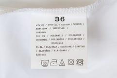 Etichetta Fotografia Stock Libera da Diritti
