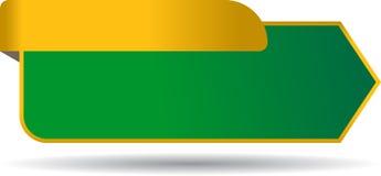 Etichetta in bianco di vendite con il nastro illustrazione vettoriale