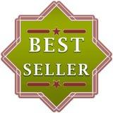 Etichetta del best-seller Fotografia Stock