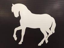 Etichetta del cavallo Fotografia Stock