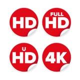 Etichetta del ison di risoluzione di HD Immagini Stock