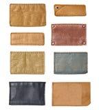 Etichetta dell'abbigliamento dell'etichetta dei jeans Fotografia Stock Libera da Diritti