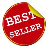 Etichetta dell'etichetta del best-seller Fotografia Stock