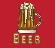 Etichetta della birra royalty illustrazione gratis
