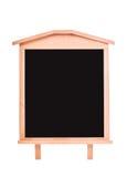 Etichetta della lavagna isolata su un bianco Fotografie Stock Libere da Diritti