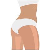 Etichetta della ragazza di forma fisica Fotografie Stock Libere da Diritti