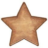 Etichetta della stella Fotografia Stock