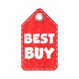 Etichetta di caduta di Best Buy Illustrazione di vettore Immagini Stock Libere da Diritti