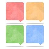 Etichetta di conversazione Fotografia Stock