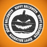 Etichetta di Halloween Fotografia Stock