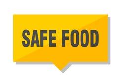 Etichetta di prezzo degli alimenti sicura royalty illustrazione gratis