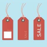 Etichetta di prezzo di vendita Fotografia Stock Libera da Diritti