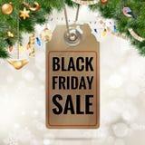 Etichetta di prezzo di vendita di Black Friday ENV 10 Illustrazione di Stock