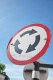 Etichetta di traffico Fotografia Stock