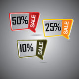 Etichetta di vendita Fotografia Stock Libera da Diritti