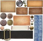 Etichette dei jeans Immagine Stock Libera da Diritti