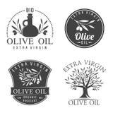 Etichette dell'olio d'oliva royalty illustrazione gratis