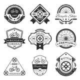 Etichette della bicicletta royalty illustrazione gratis