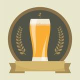 Etichette della birra Immagini Stock