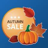 Etichette di prezzi di autunno Immagine Stock Libera da Diritti