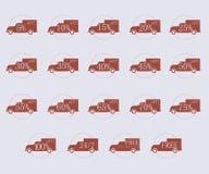 Etichette di sconto Immagini Stock