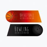 Etichette di sport, Immagine Stock