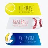 Etichette di sport, Immagini Stock Libere da Diritti