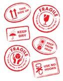 Etichette di trasporto royalty illustrazione gratis