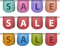 Etichette di vendita Fotografie Stock