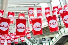 Etichette di vendita Immagini Stock