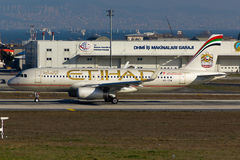 Etihad Airways Airbus A320 Fotografie Stock