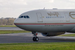 Etihad Airways Airbus A330 Royalty Free Stock Photography
