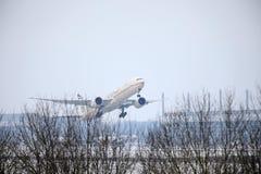 Etihad Airways Boeing 777-300 A6-ETS Photo libre de droits