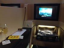 Etihad airways A330. Diamond first-class Royalty Free Stock Photography