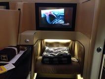 Etihad airways A330. Diamond first-class Royalty Free Stock Image