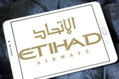 Etihad airways logo stock images