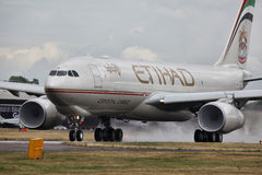 Etihad Crystal Cargo royalty free stock images