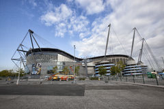 Etihad football stadium Stock Photo