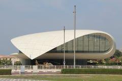 Etihad museum i Dubai UAE royaltyfria foton