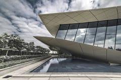 Etihad muzeum, Zrzeszeniowy muzeum, Dubaj, Jan 2018 Zdjęcie Royalty Free