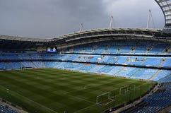 Etihad stadion - Manchester City arena Fotografering för Bildbyråer