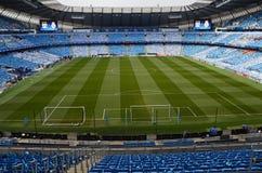Etihad stadion - Manchester City arena Arkivfoton