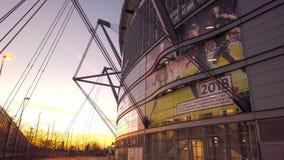 Etihad-Stadion von Manchester City der berühmte Fußballclub - MANCHESTER, ENGLAND - 1. JANUAR 2019 stockfoto