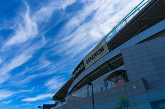 Etihad stadium in the Docklands, Melbourne. Royalty Free Stock Image