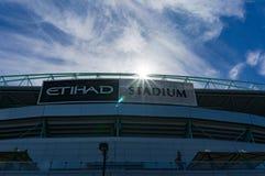 Etihad stadium in the Docklands, Melbourne. Stock Image