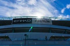 Etihad stadium in the Docklands, Melbourne. Royalty Free Stock Photos