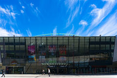 Etihad stadium in the Docklands, Melbourne. Stock Photography