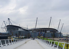 Etihad Stadium - Manchester City Arena Royalty Free Stock Images