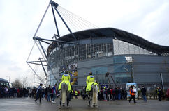 Etihad Stadium - Manchester City Arena Royalty Free Stock Photos