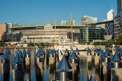 Etihad Stadium in Melbourne Docklands Stock Images